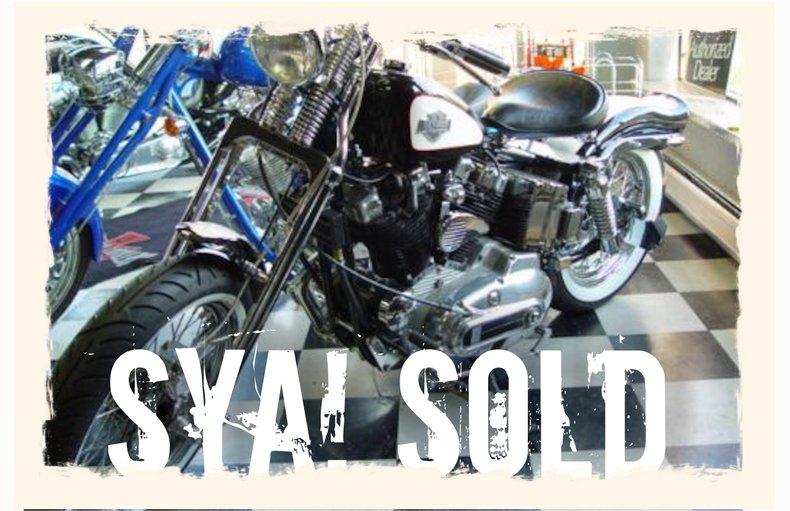 1974 Harley Davisdon XL
