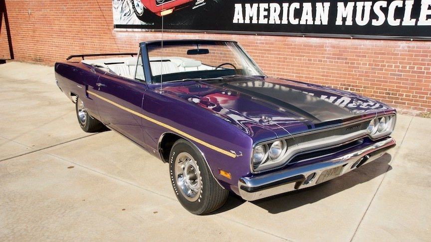 1970 plymouth road runner convertible