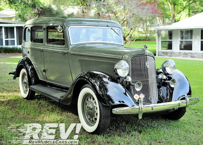 1934 Plymouth PFXX