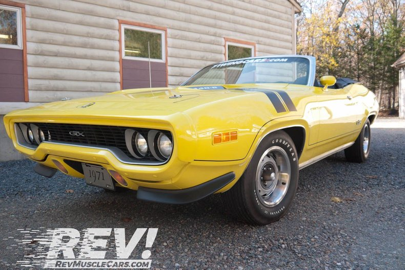 1971 Plymouth GTX Convertible