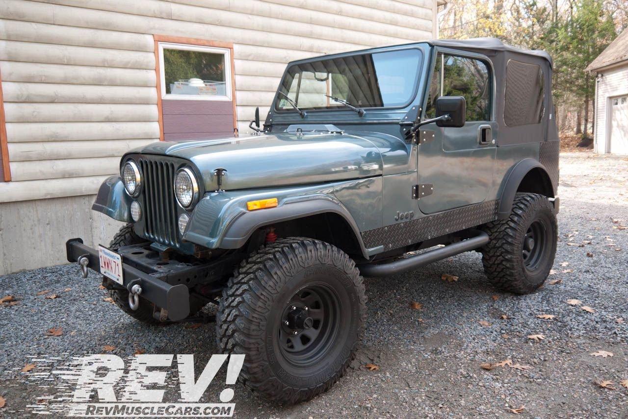 1985 jeep wrangler cj 7