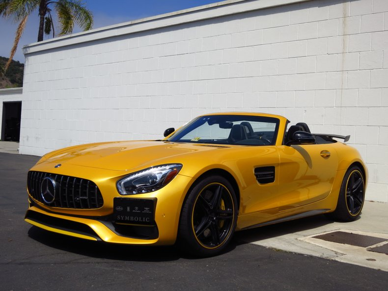 2018 Mercedes-Benz AMG GT-C Roadster