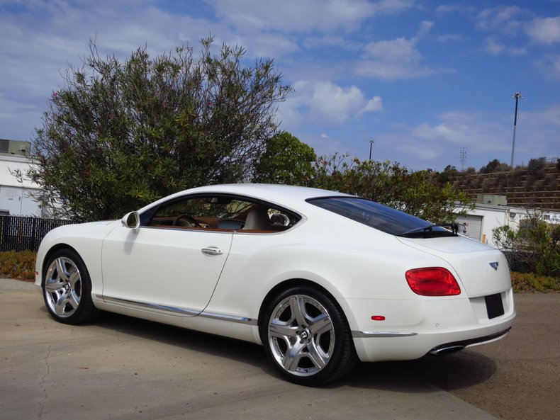 2012 Bentley Continental Mulliner