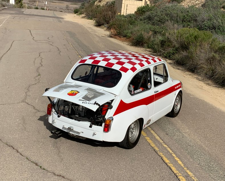 1965 Fiat Abarth 1000 TC Berlina