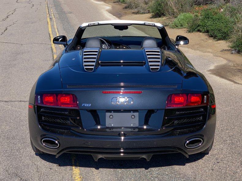 2012 Audi R8 V10 Spyder