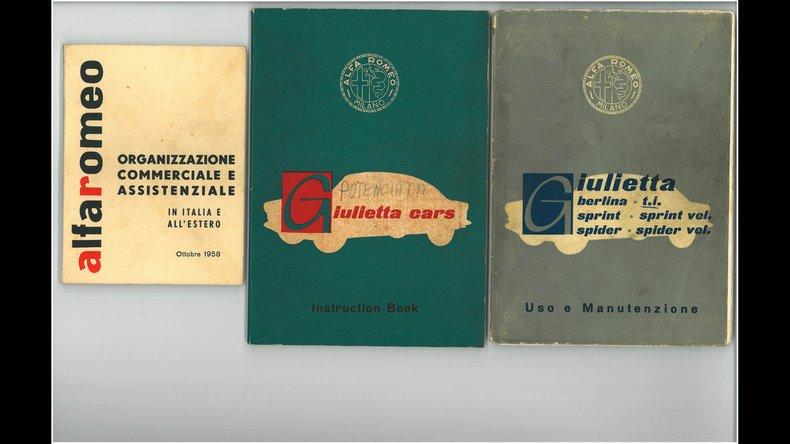 1957 Alfa Romeo Giulietta Sprint Veloce