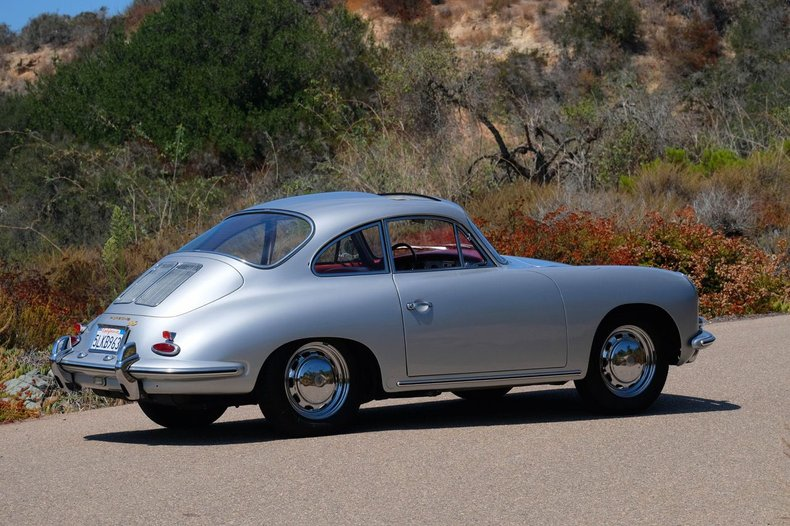 1964 Porsche 356SC Sunroof Coupe