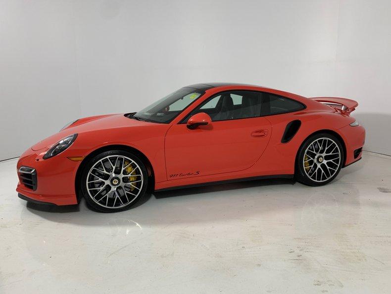 2016 Porsche 911 Turbo S For Sale