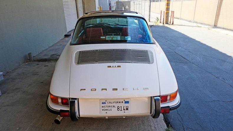 1970 Porsche 911E Targa