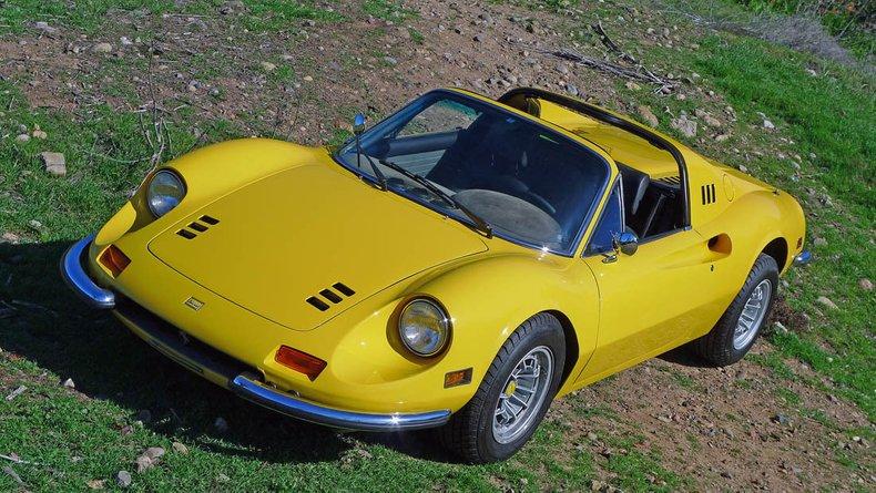 1973 Ferrari 246 GTS