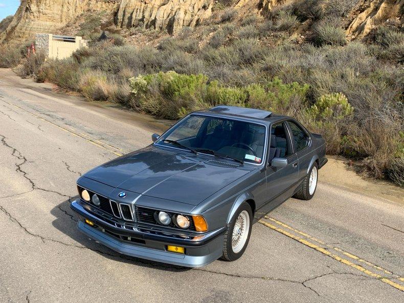 1985 BMW ///M 635CSi