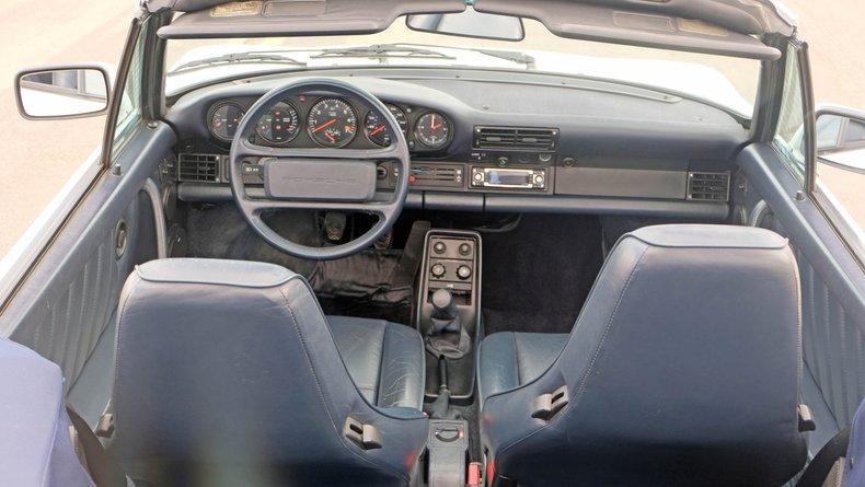 1989 Porsche 930 Turbo Slantnose Cabriolet