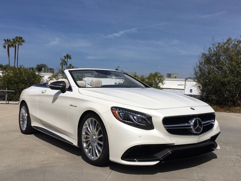 2017 Mercedes-Benz S65 AMG Cabriolet