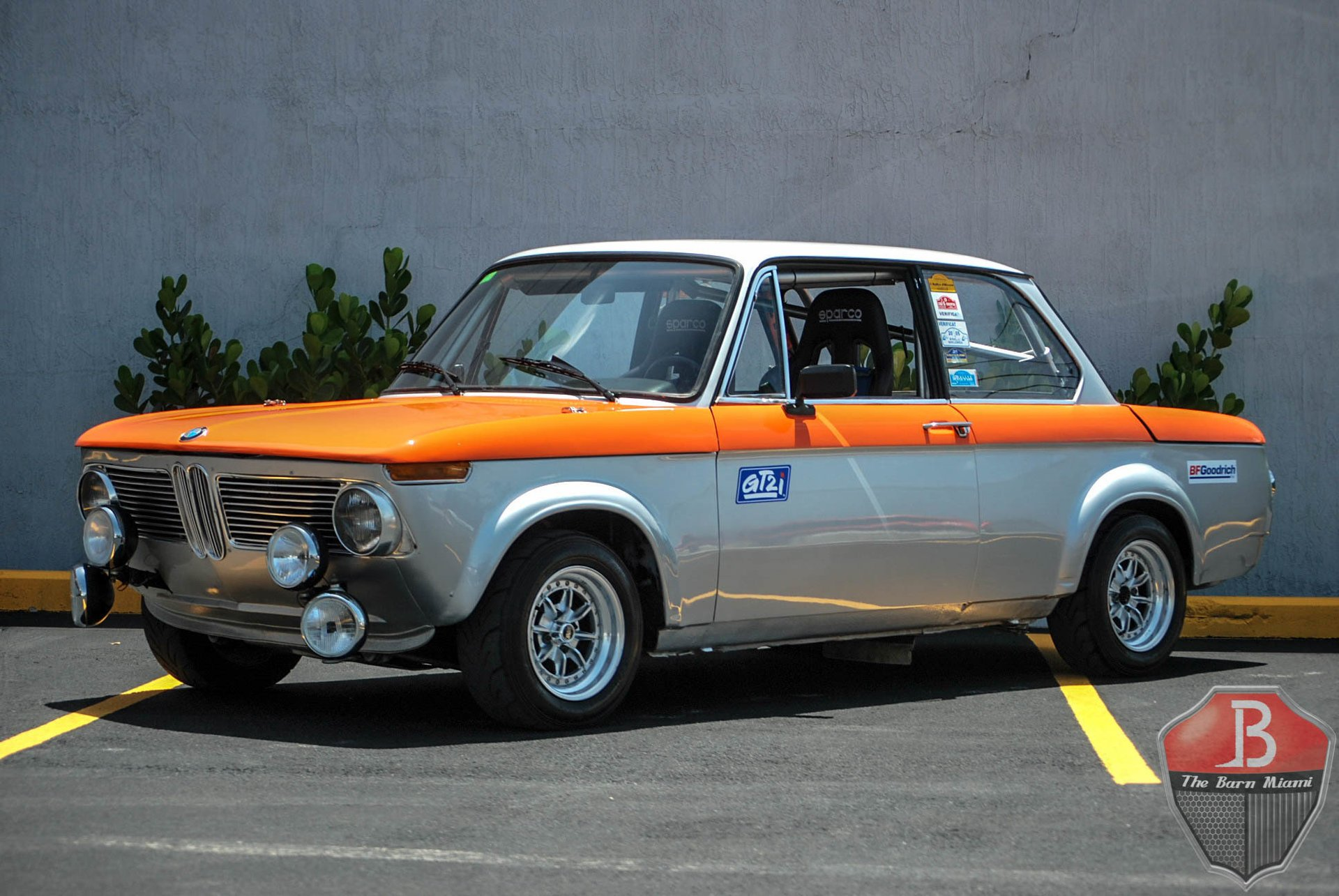 1972 bmw 2002tii rally spec