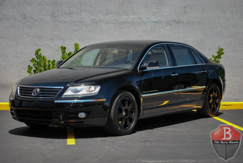 2004 volkswagen phaeton the barn miami. Black Bedroom Furniture Sets. Home Design Ideas