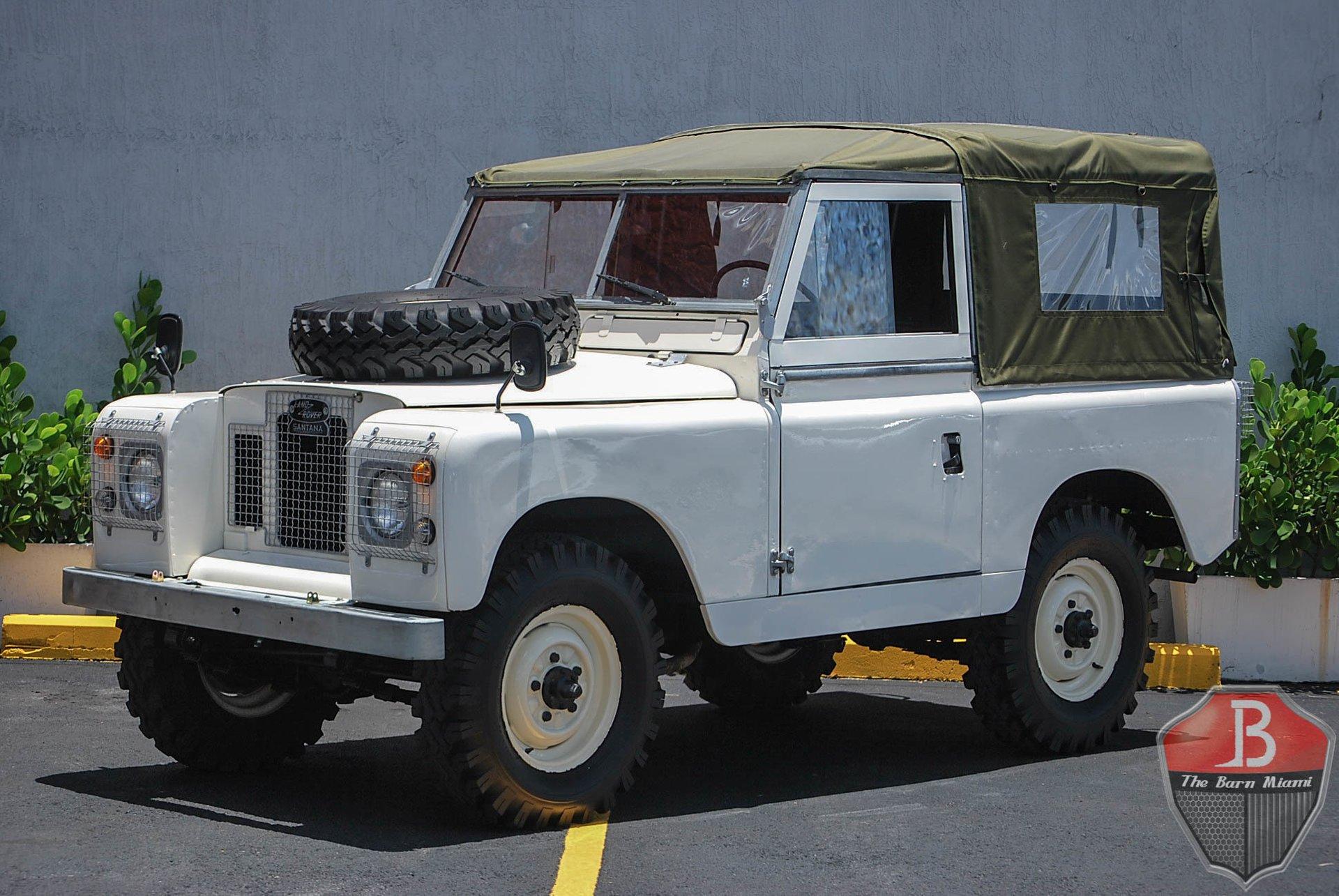 1972 land rover series iia 88 santana