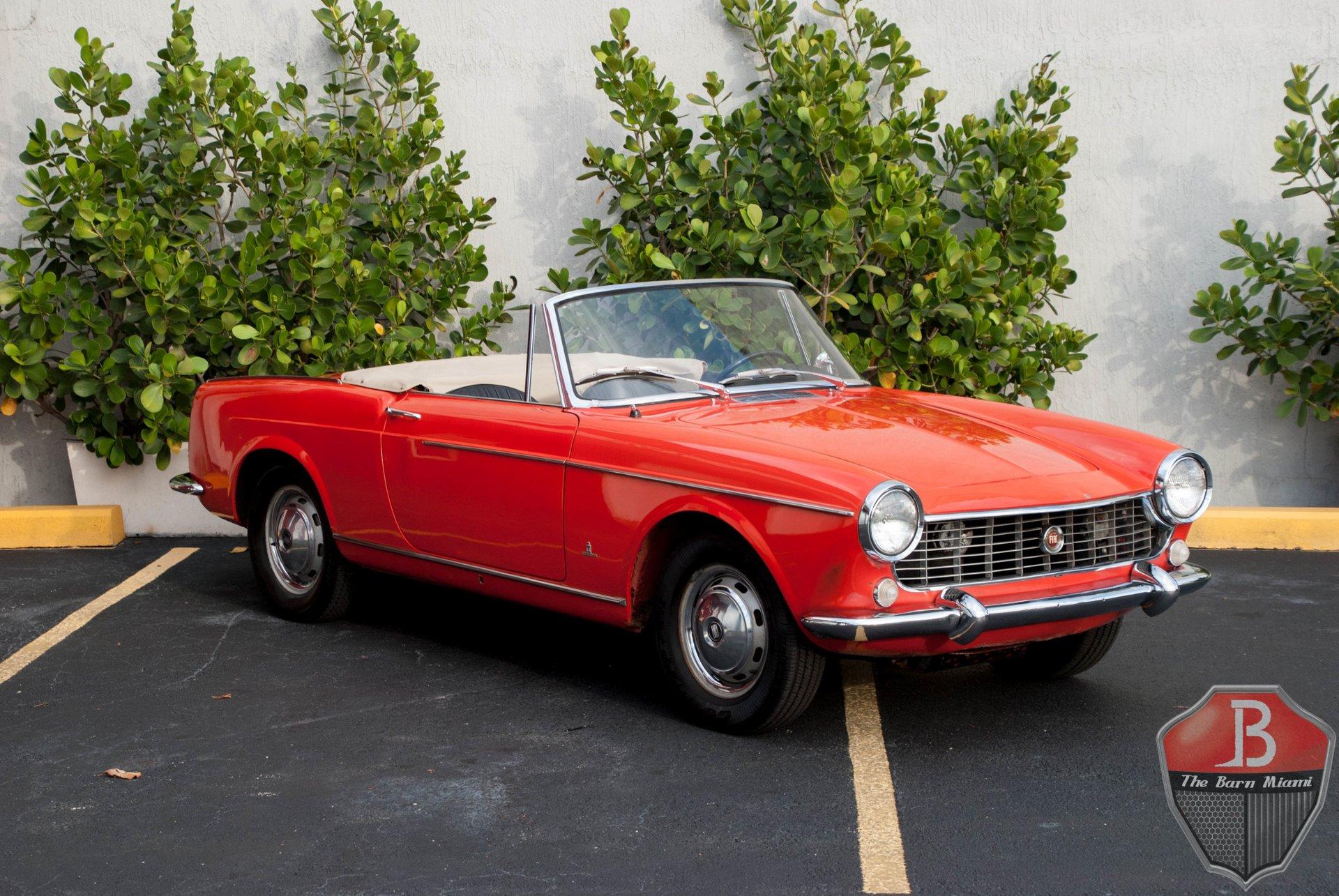 1967 fiat 1500 pininfarina cabriolet