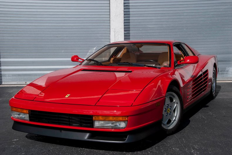1991 Ferrari Testarossa For Sale 52427 Mcg
