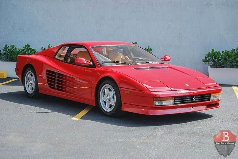 1987 ferrari testarossa the barn miami. Black Bedroom Furniture Sets. Home Design Ideas