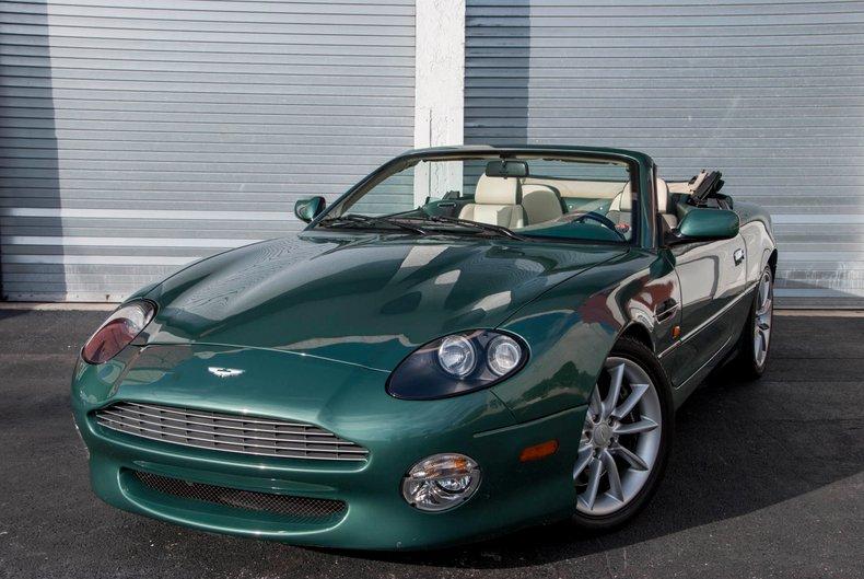 2002 Aston Martin Vantage