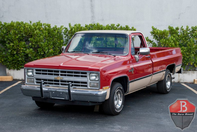 1985 Chevrolet 1/2-Ton Pickup For Sale