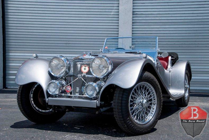 1960 Jaguar SS100