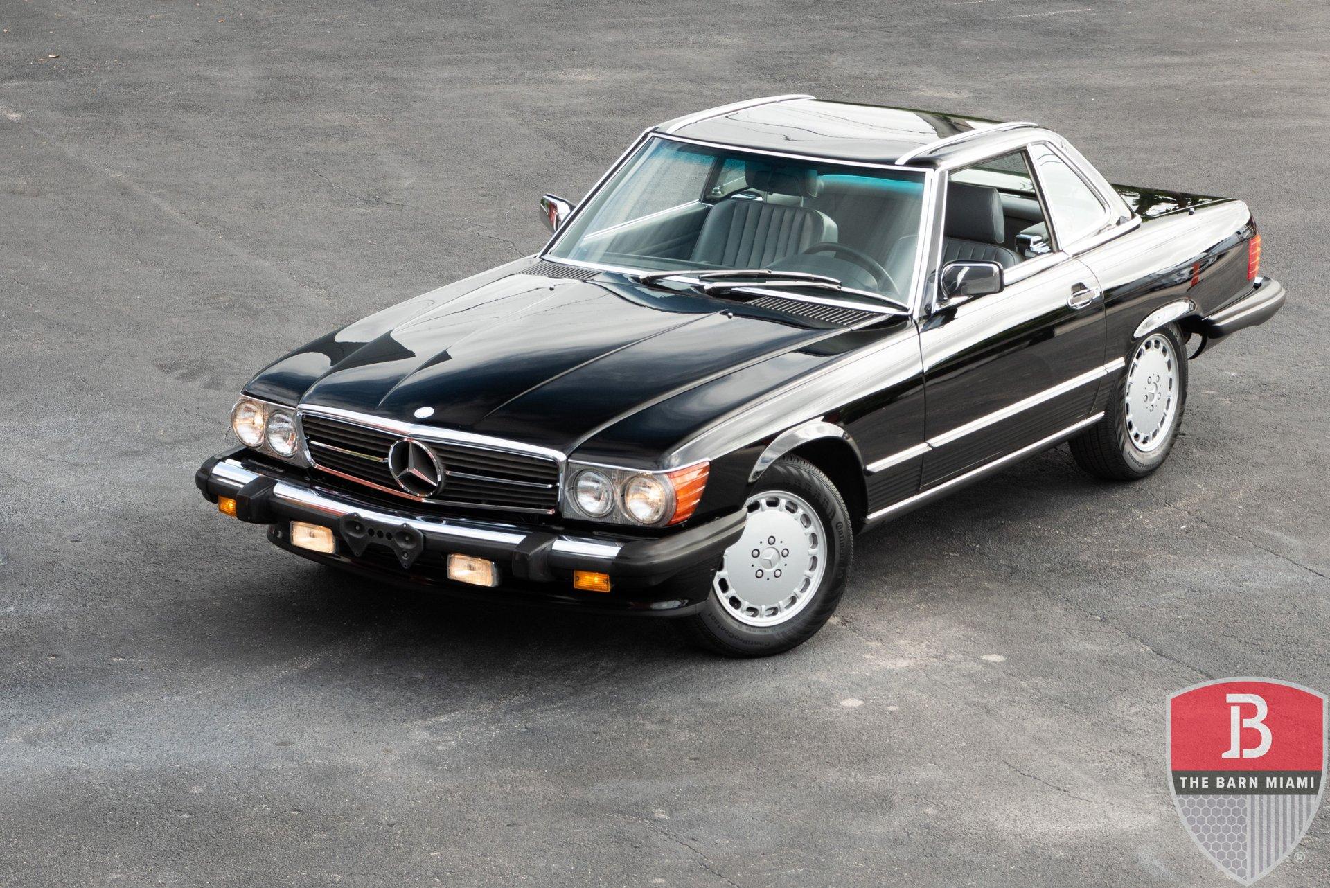 1989 mercedes benz sl class