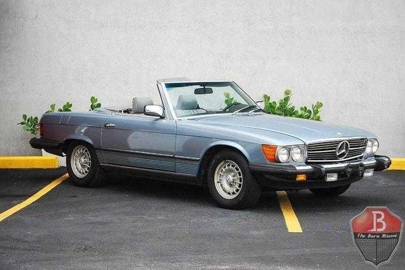 1985 mercedes benz 380 class
