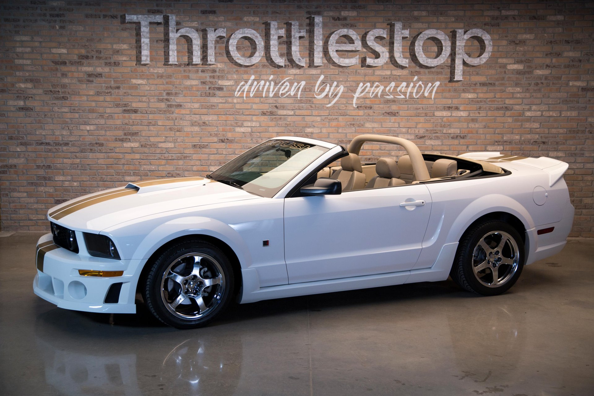 2007 ford mustang roush stage 1 convertible