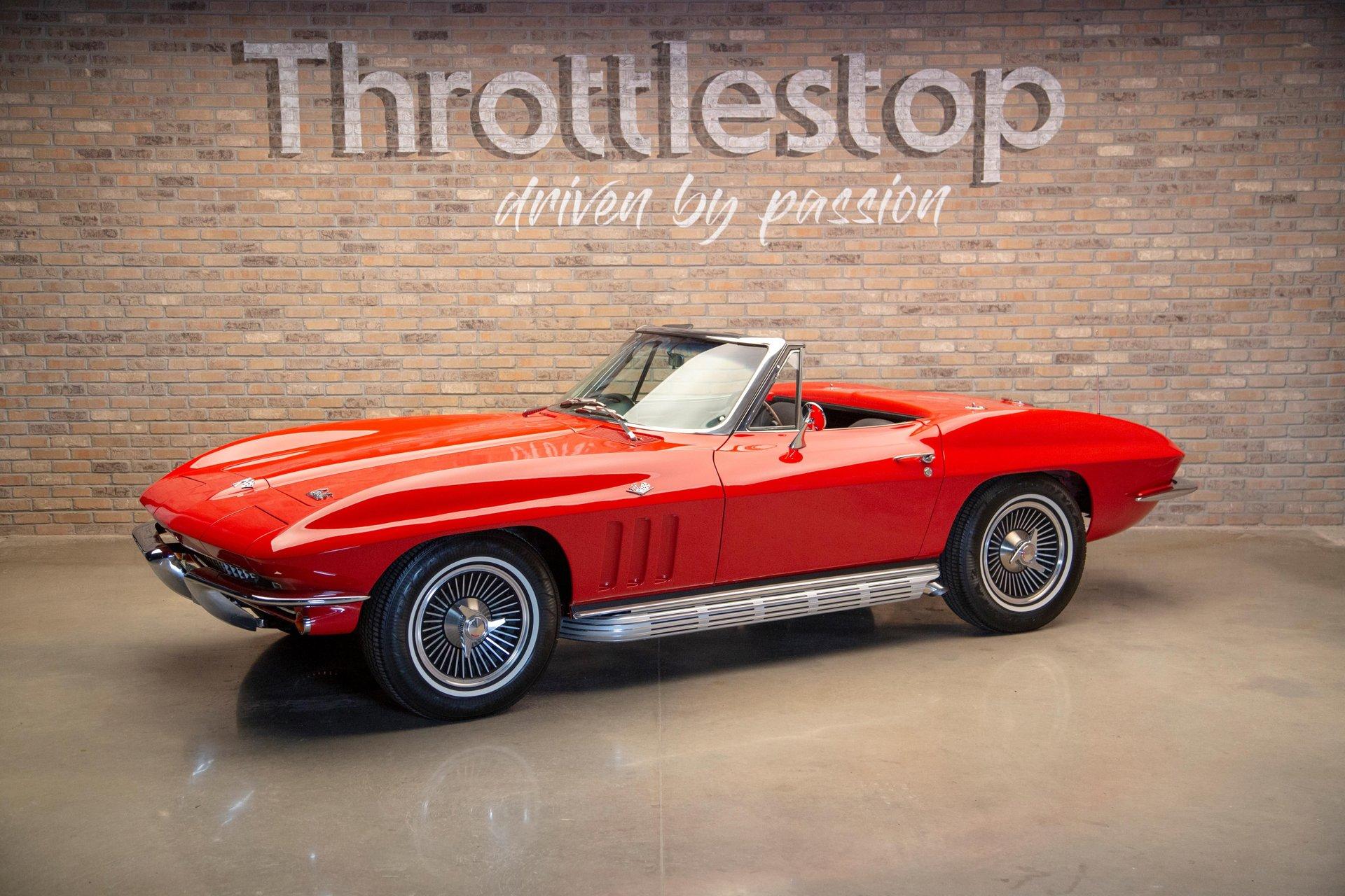 1966 chevrolet corvette 2 door convertible