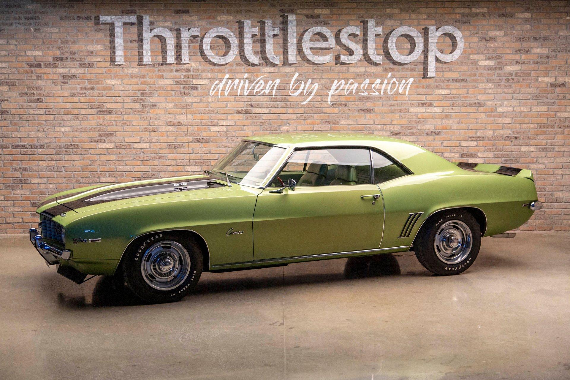 1969 chevrolet camaro z 28