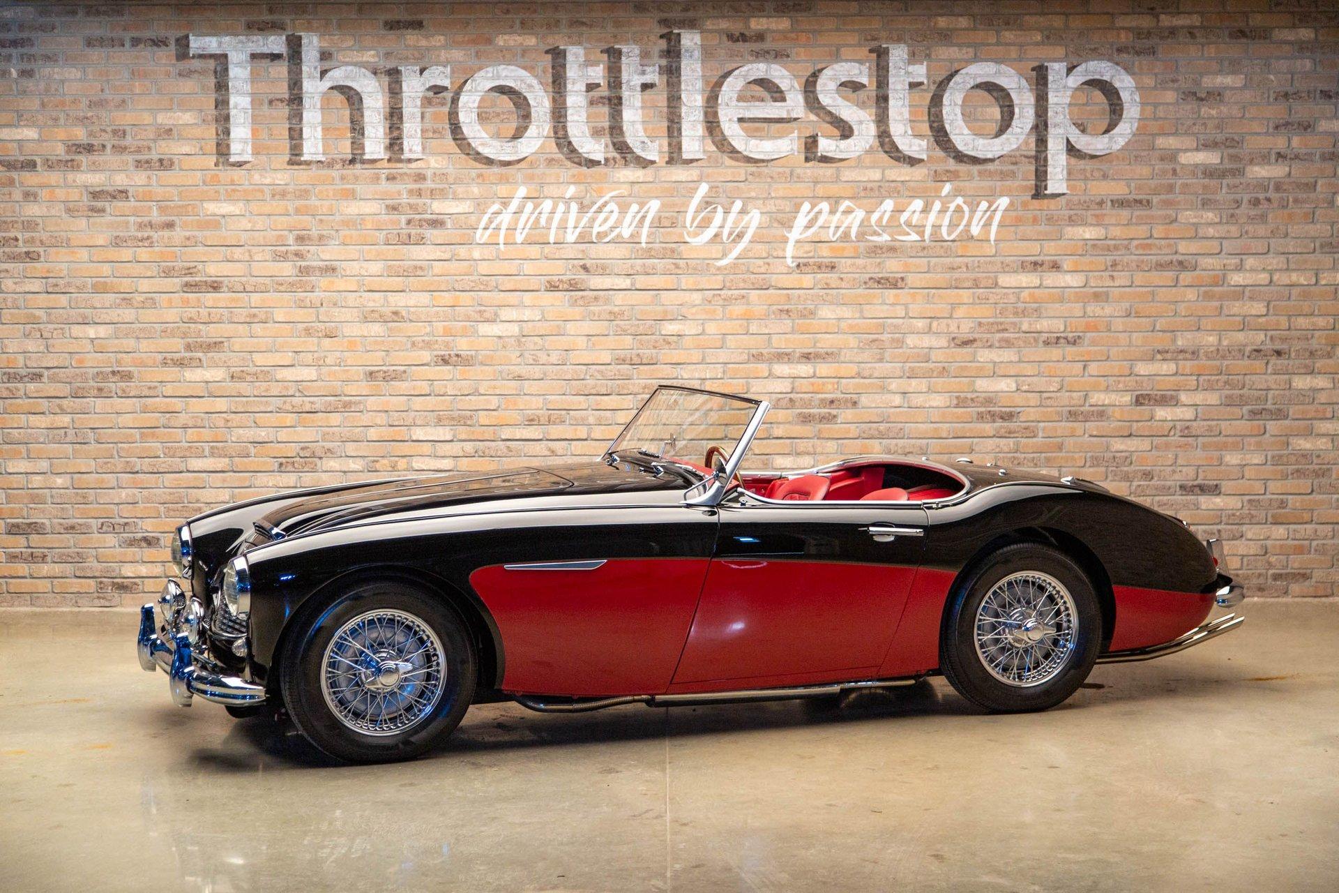 1959 austin healey 100 6 bn6 roadster