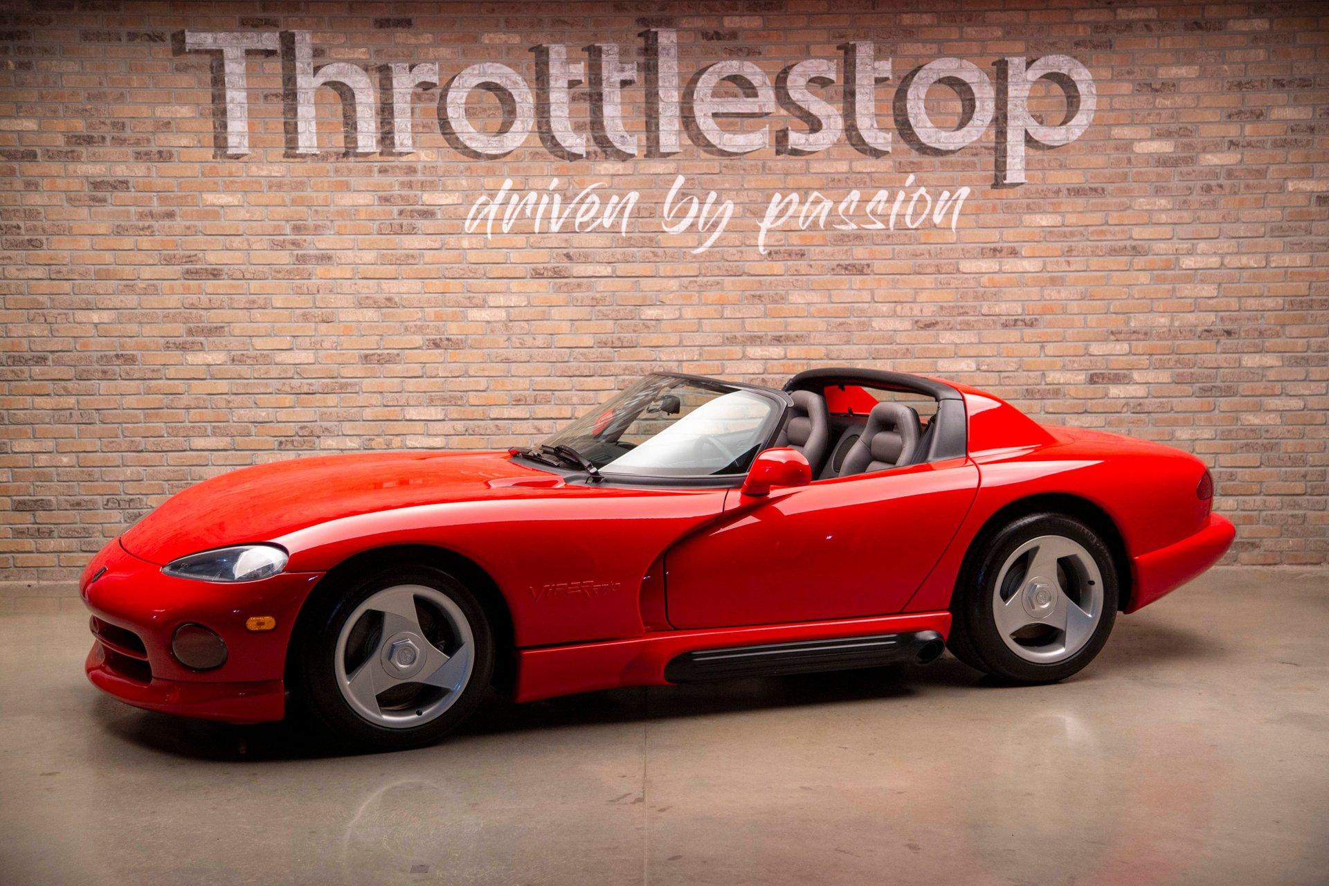 1995 dodge viper rt 10 convertible