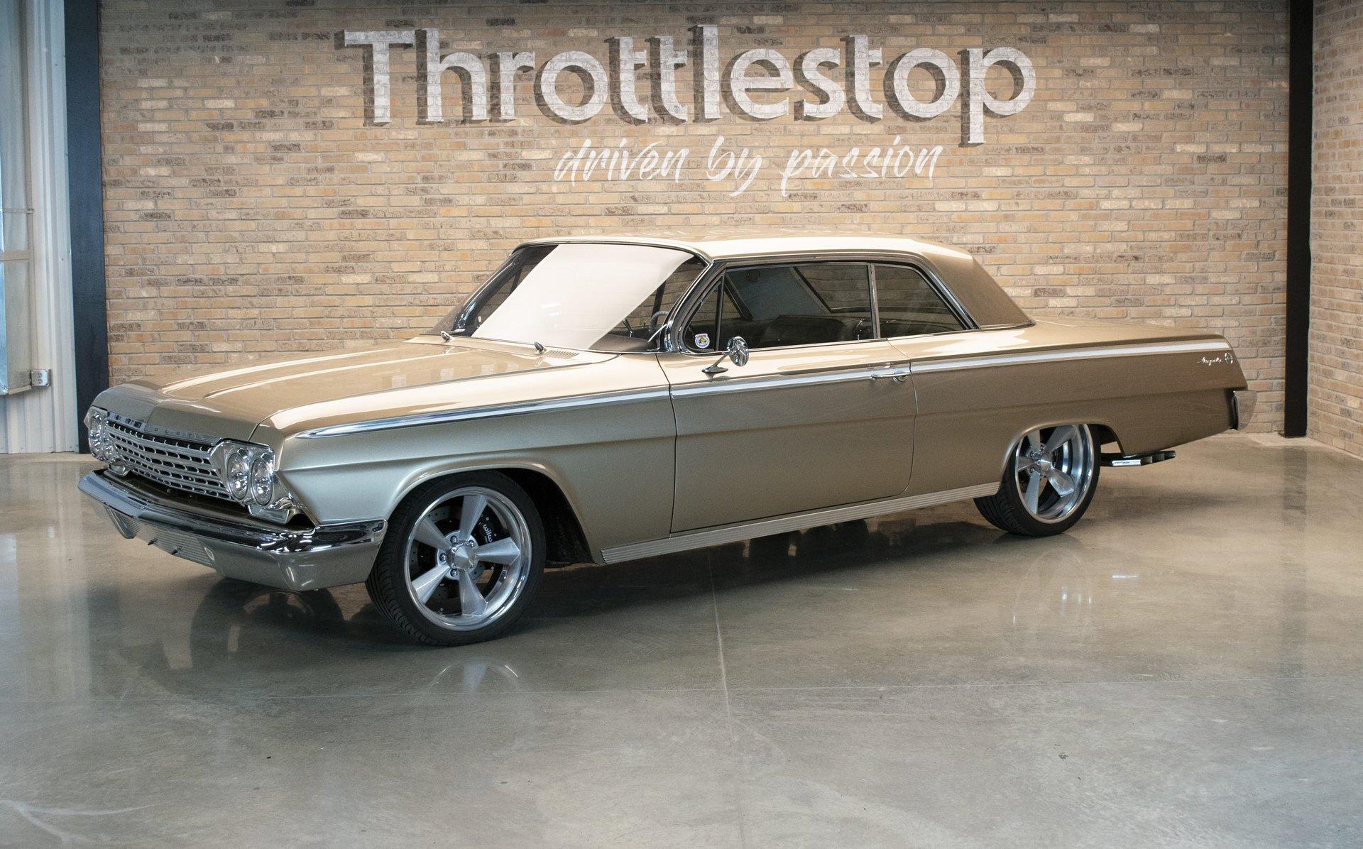 1962 chevrolet impala restomod