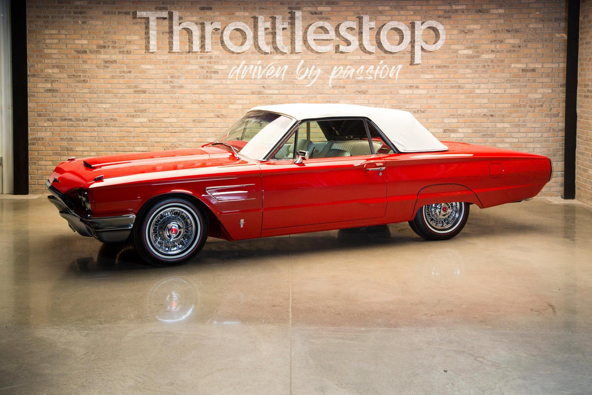 1965 ford roadster thunderbird 427ci
