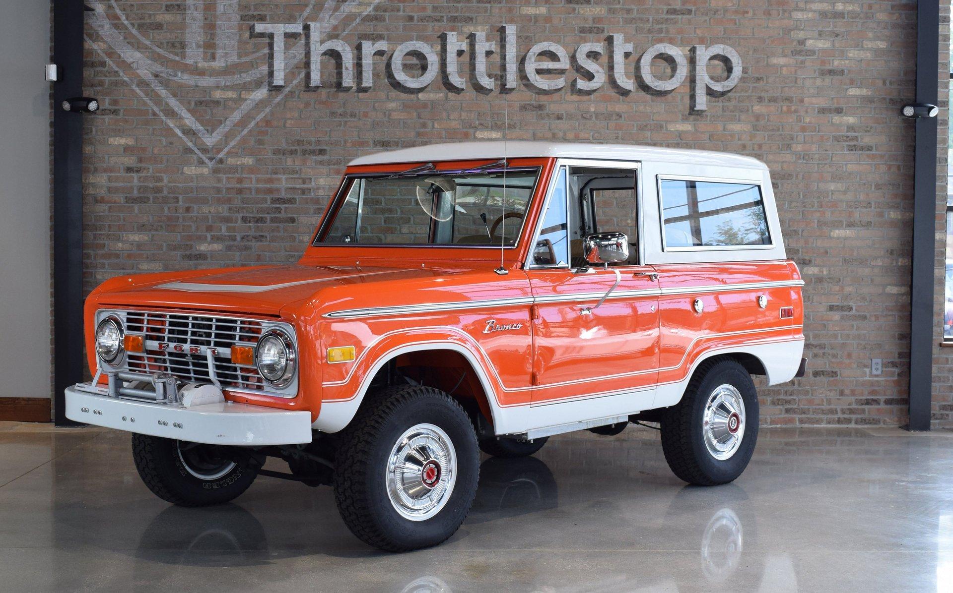 1976 ford bronco 4x4 ranger edition