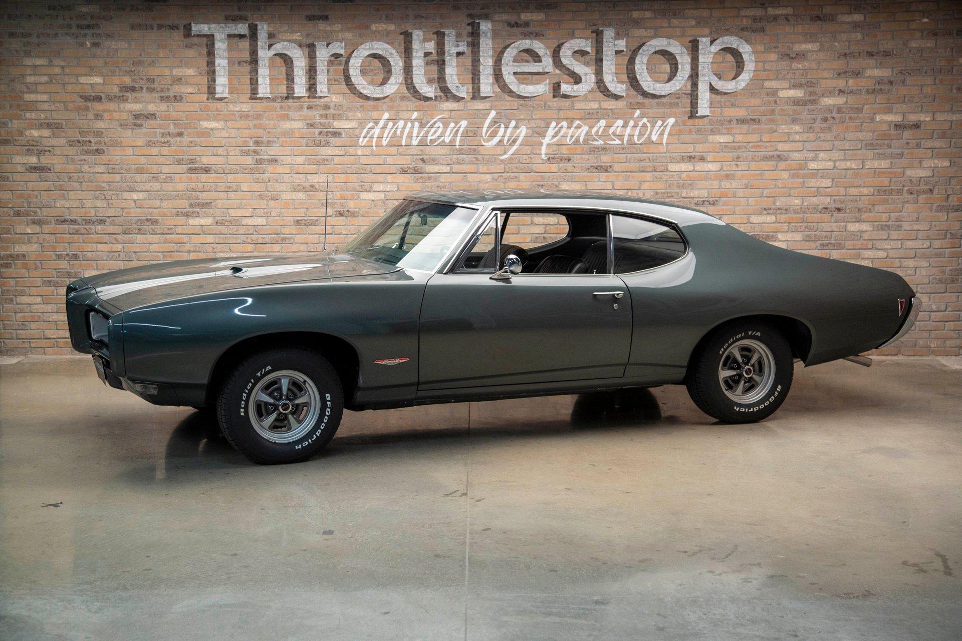 1968 pontiac gto 2 door coupe