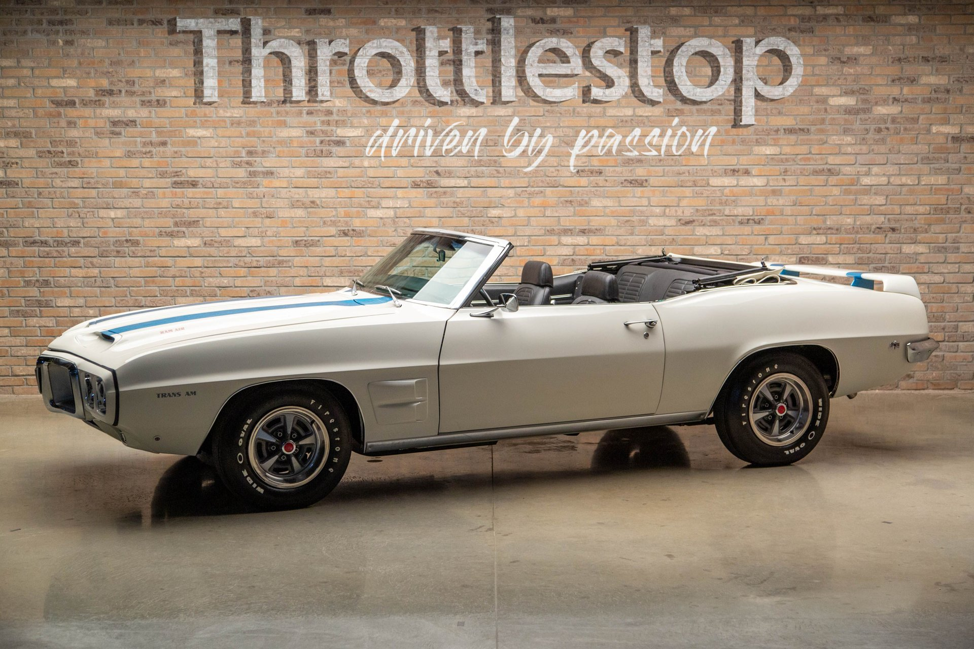 1969 pontiac trans am convertible recreation