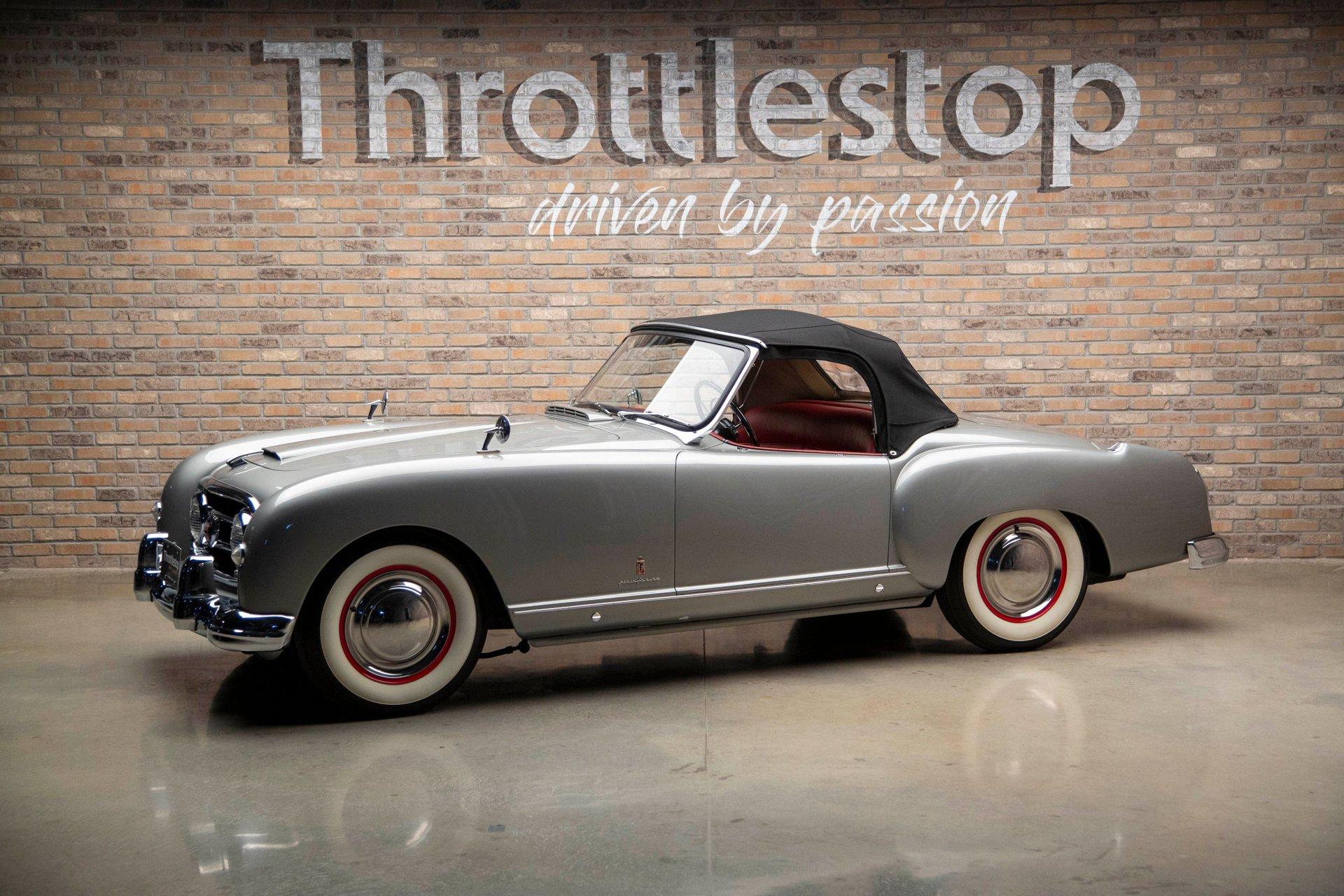 1953 nash healey le mans roadster