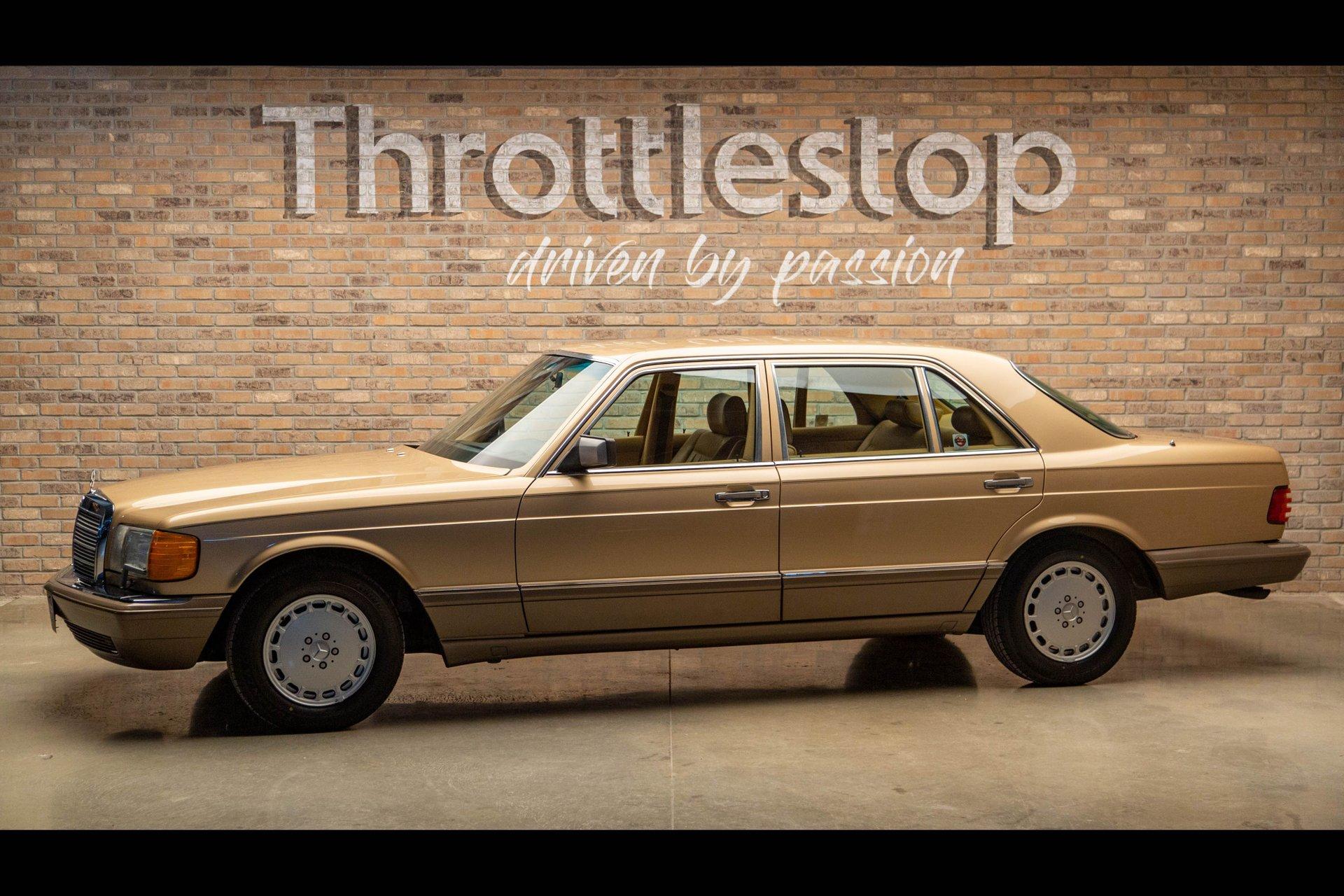 1987 mercedes mercedes benz 300sdl sedan