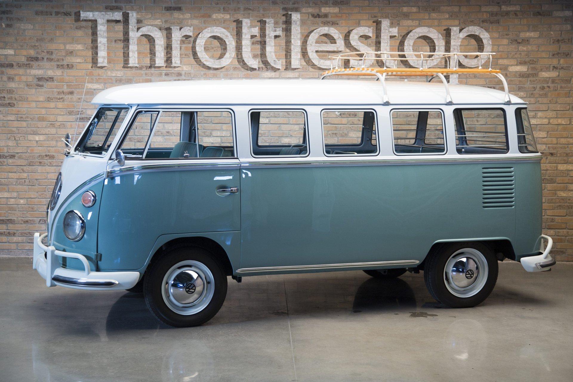 1963 volkswagen bus vanagon deluxe