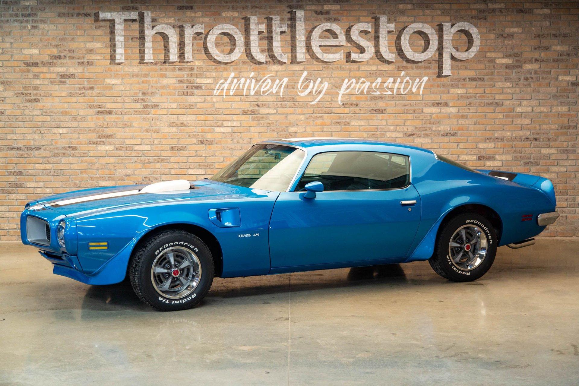 1970 pontiac trans am lucerne blue