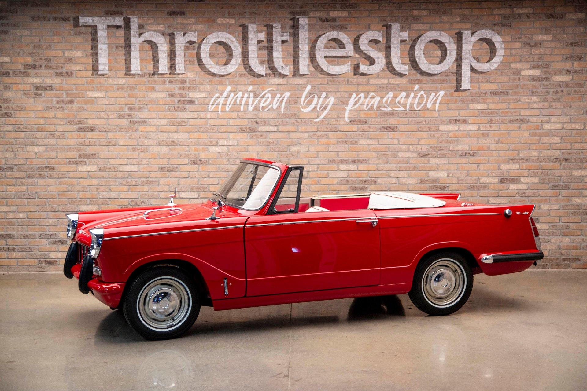 1960 triumph herald convertible