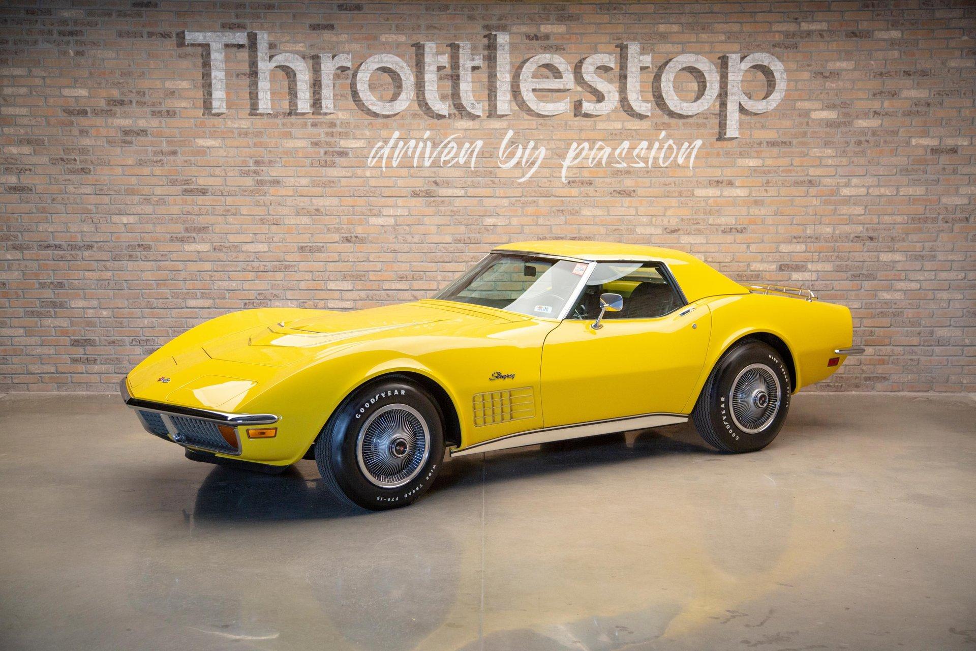 1972 chevrolet corvette lt 1