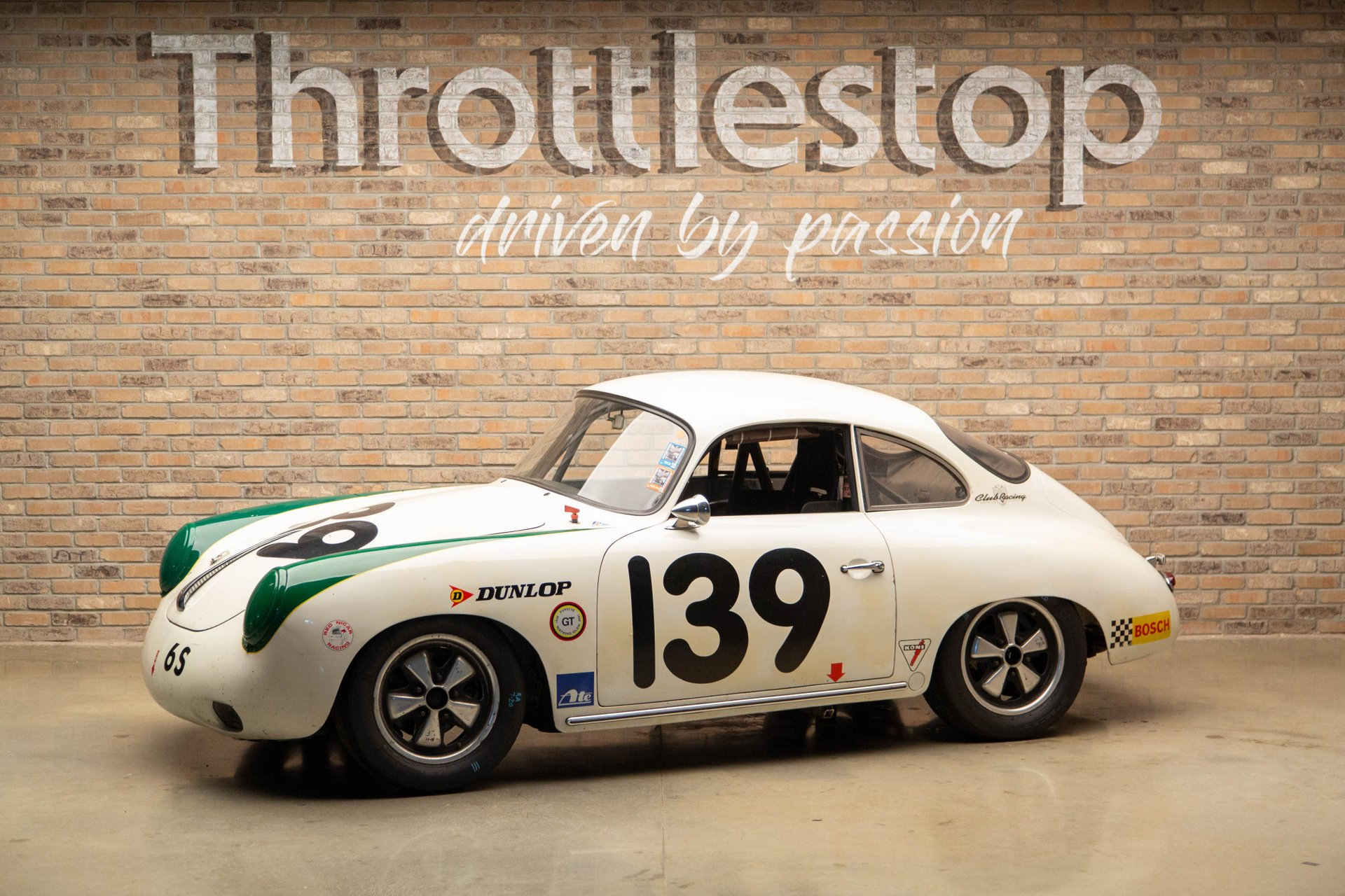 1964 porsche 356 c vintage racer