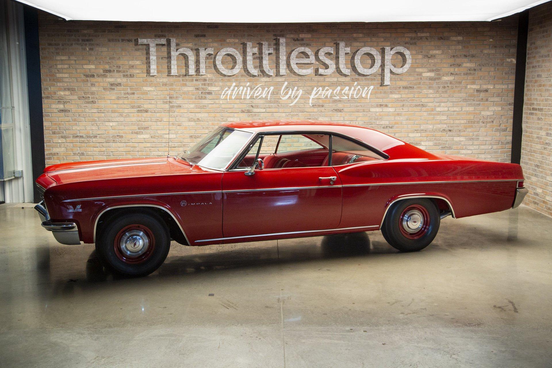 1966 chevrolet impala 2 door sport coupe