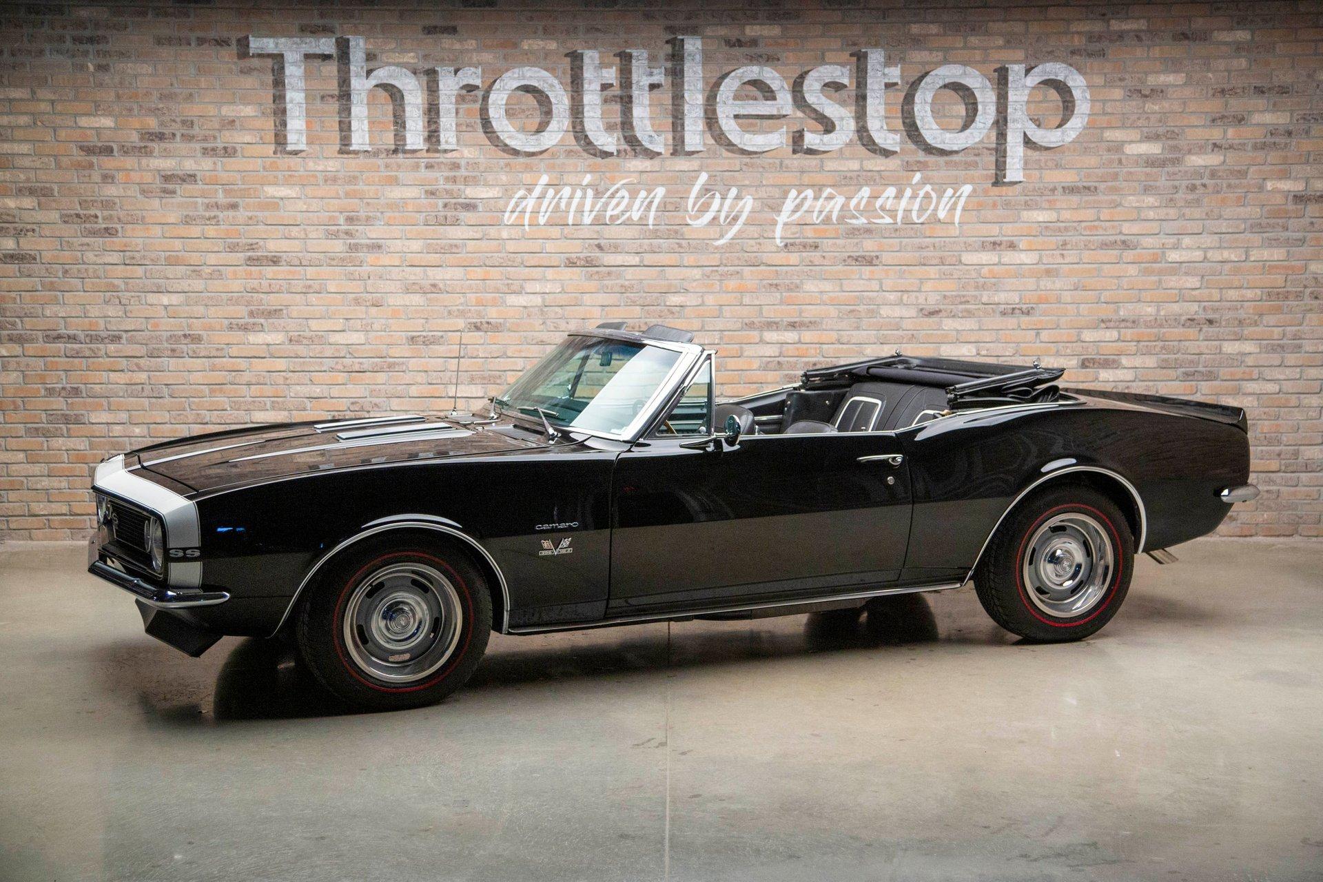 1967 chevrolet camaro ss396 convertible