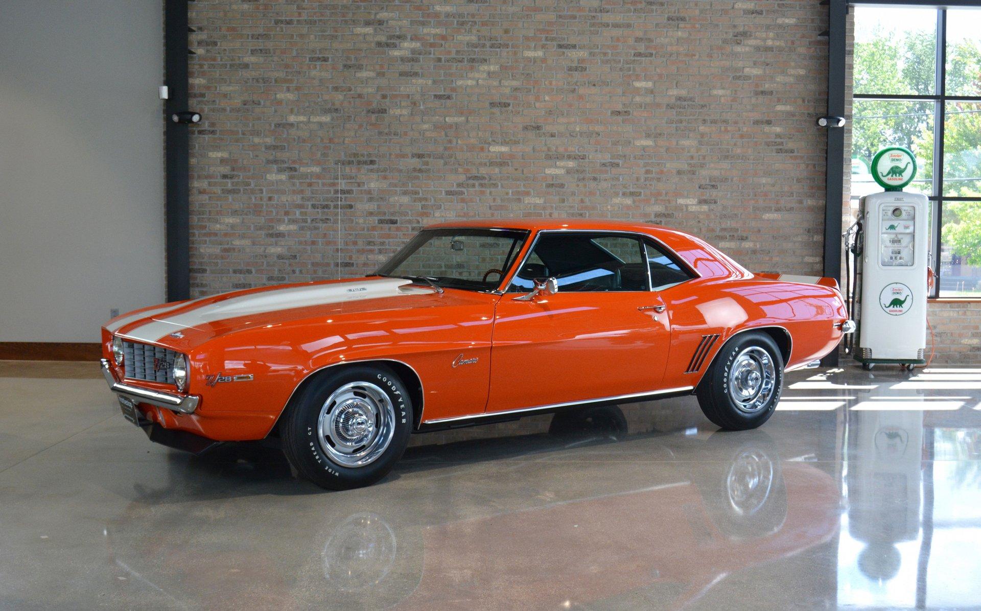 1969 chevrolet camaro z 28 coupe