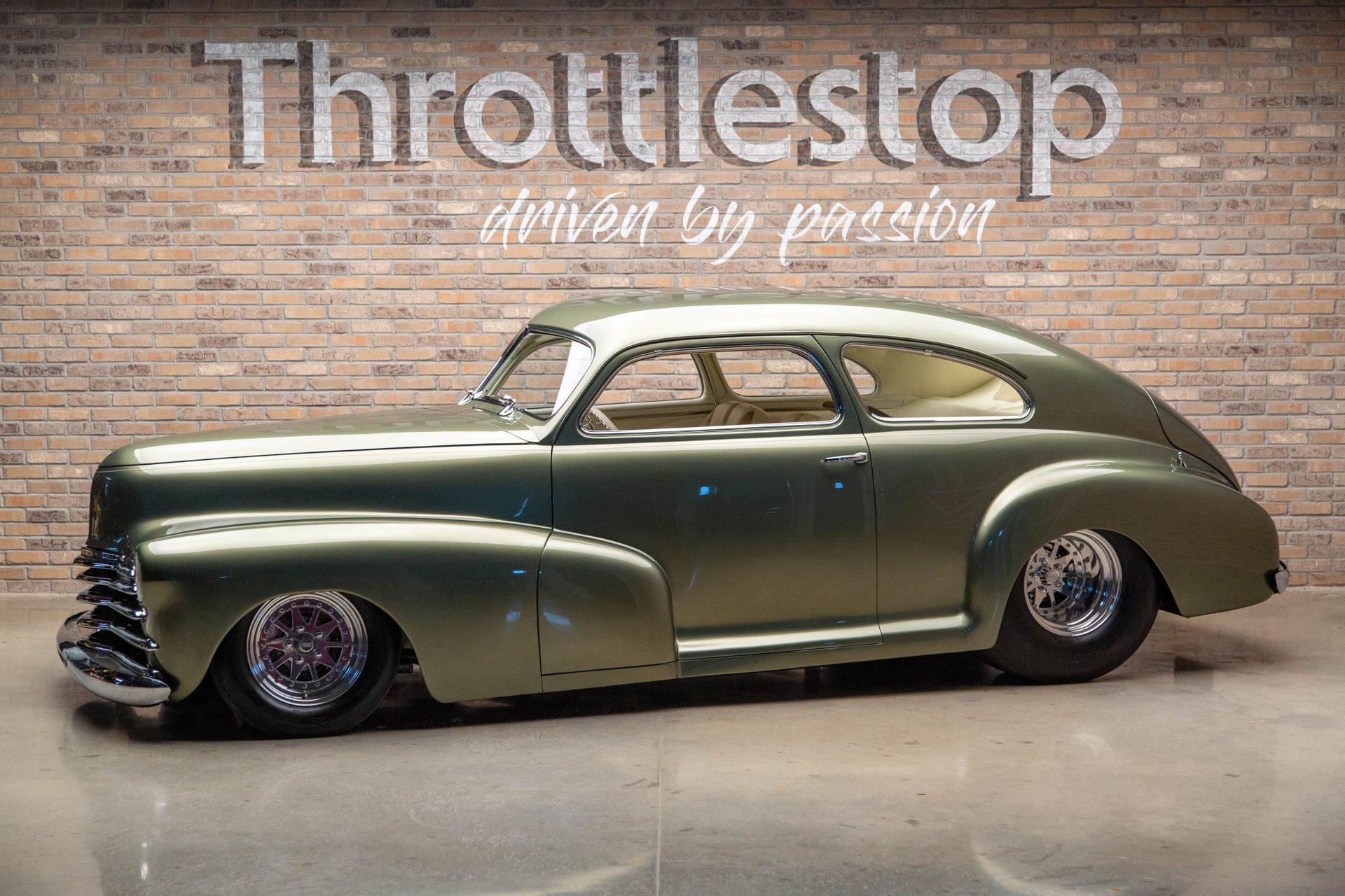 1948 chevrolet fleetline aerosedan pro street custom
