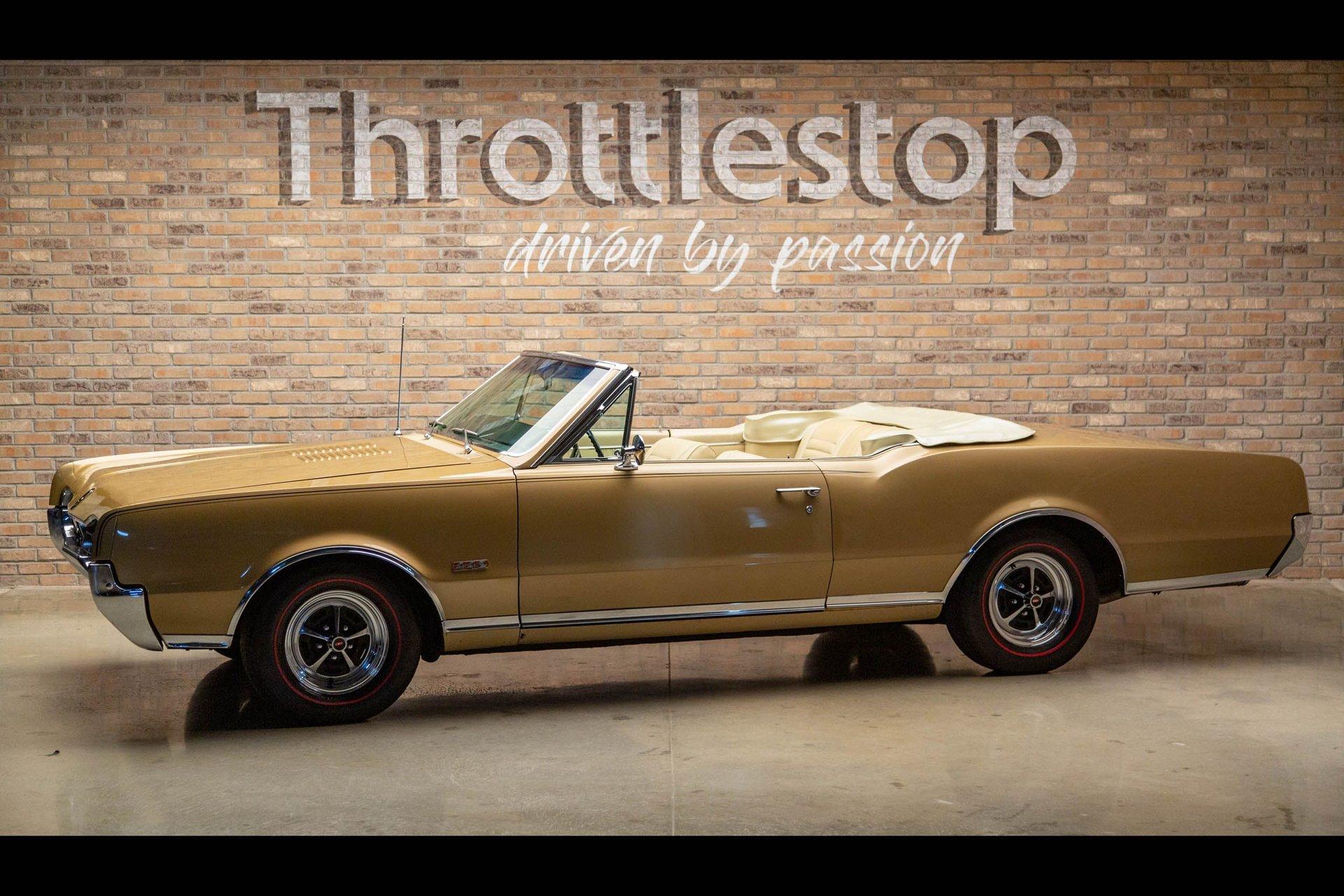 1967 oldsmobile cutlass 442 convertible